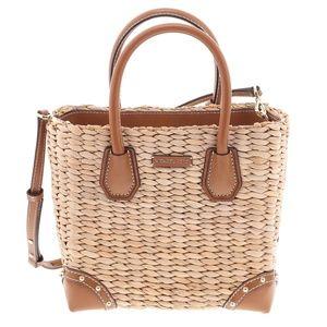 Michael Kors Wicker Crossbody/Top Handle Handbag